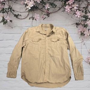 🍂LUCKY BRAND🍂 button down L